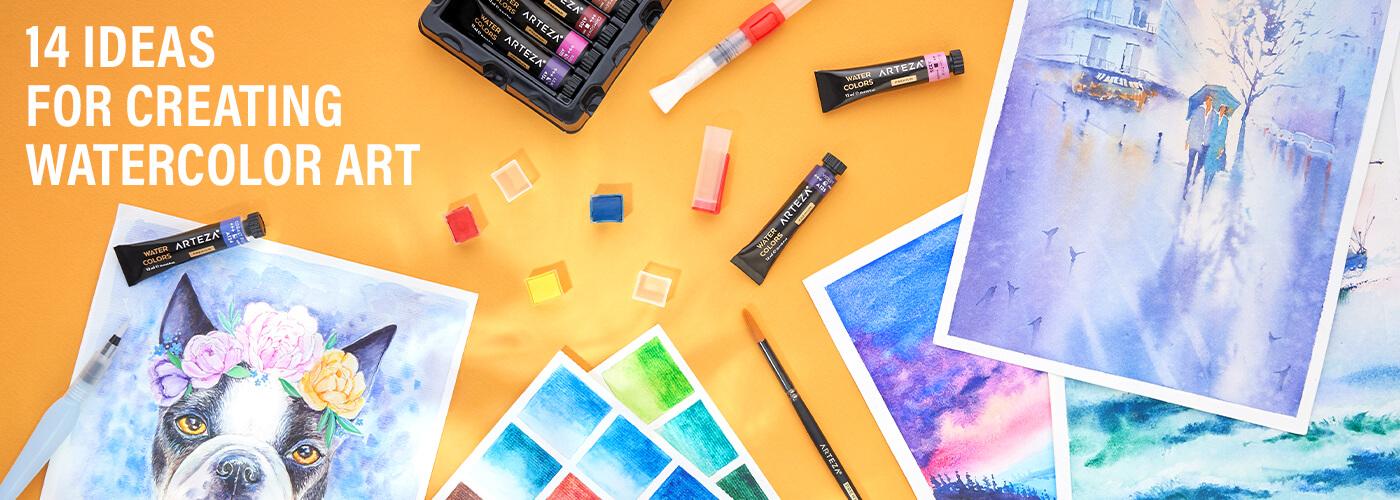 14 Inspirational Watercolor Ideas Arteza