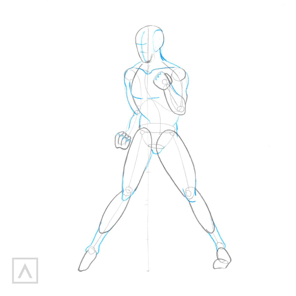 Step By Step Body Drawing Arteza