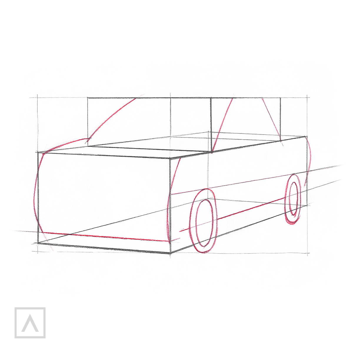 How to Draw a Car - Step 5