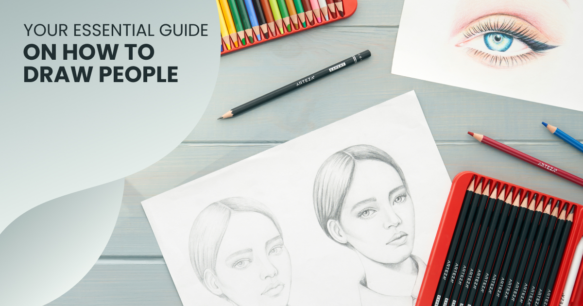 9 Blogs That Teach How to Draw a Person