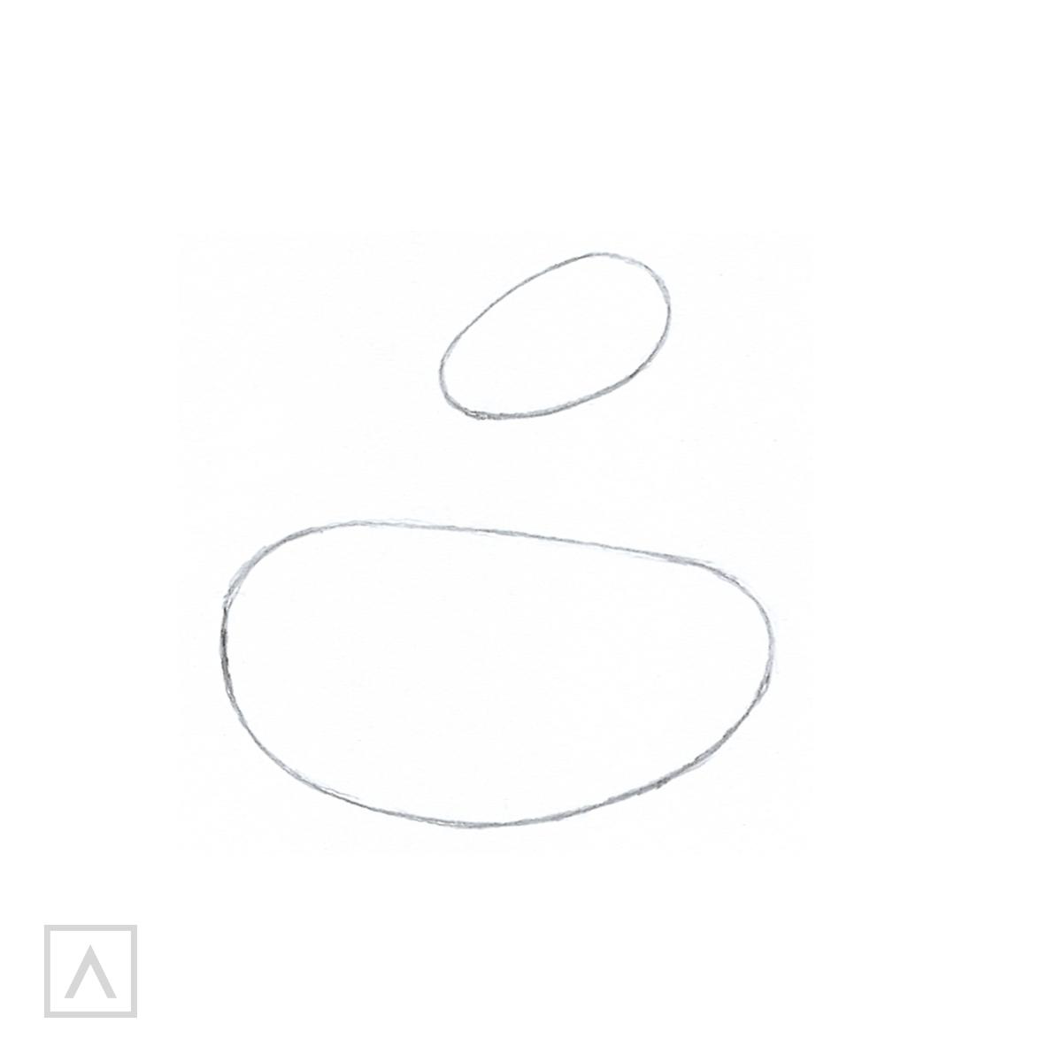 How to Draw a Unicorn - Step 1