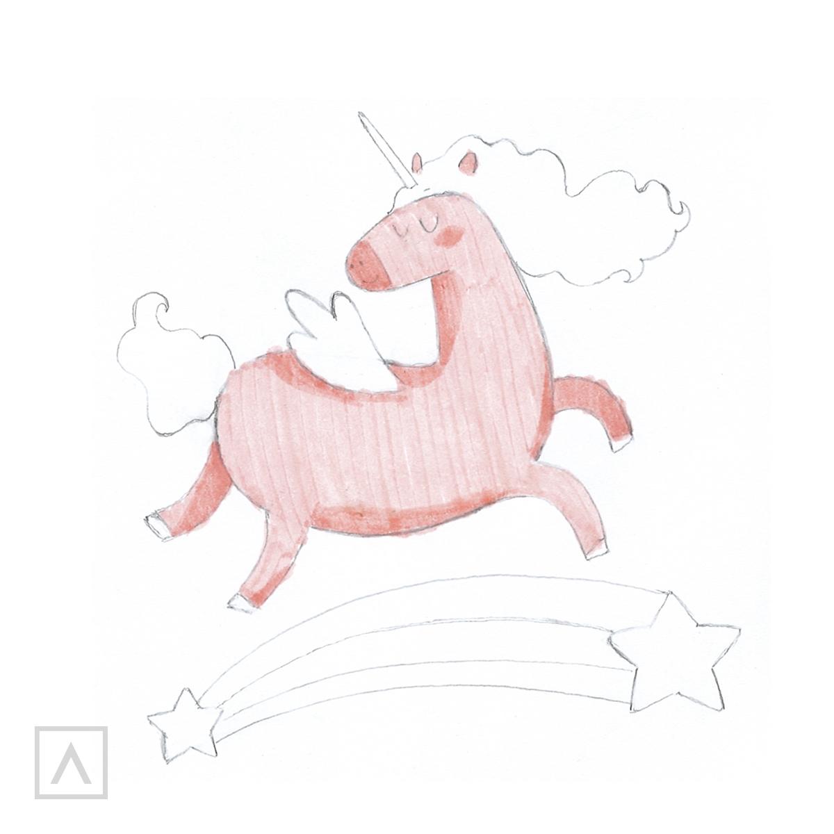 How to Draw a Unicorn - Step 6