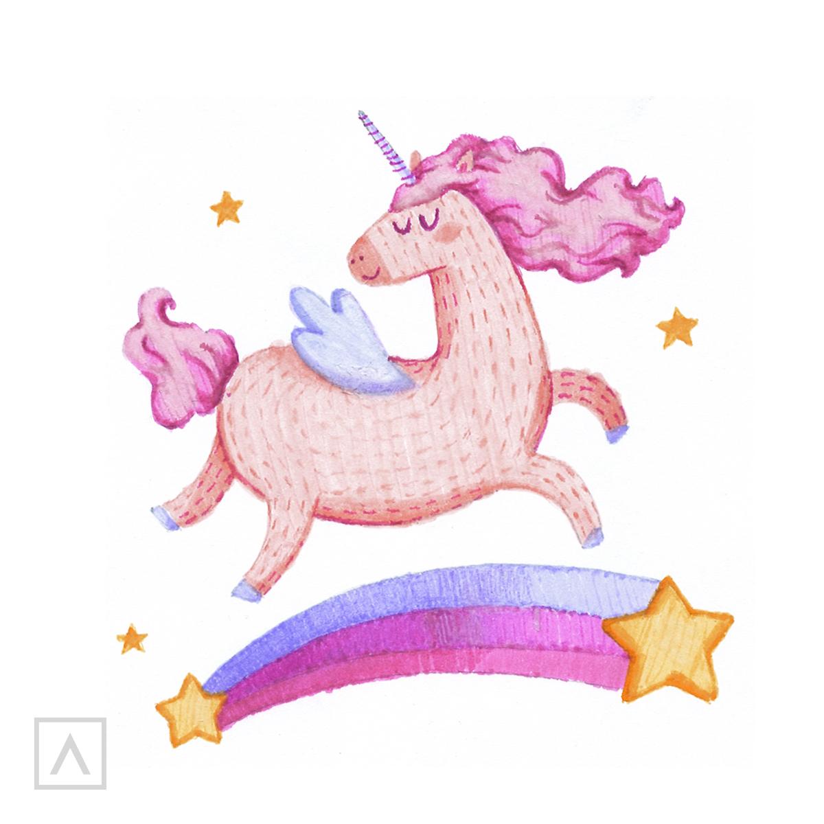 How to Draw a Unicorn - Step 10