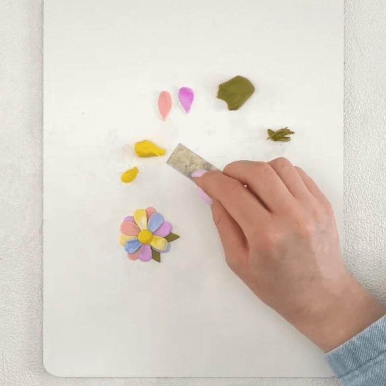 Polymer Clay Jewelry Step 5