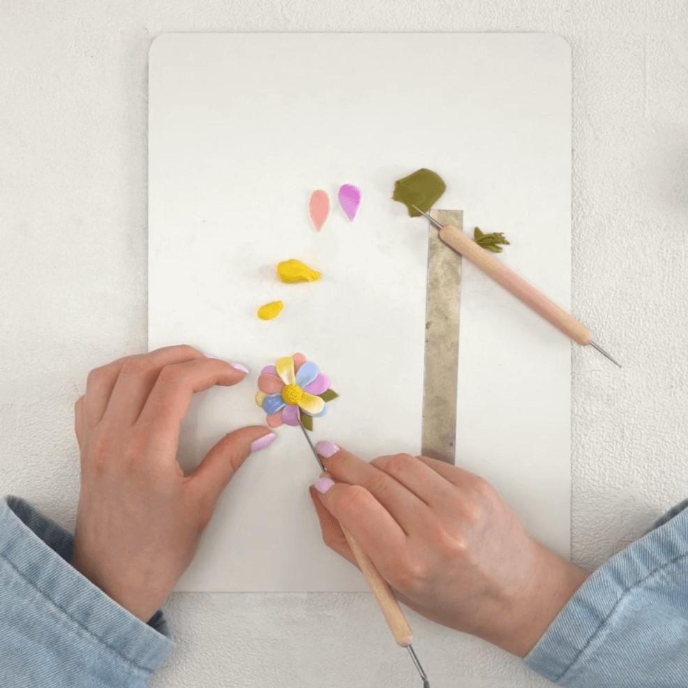 Polymer Clay Jewelry Step 6