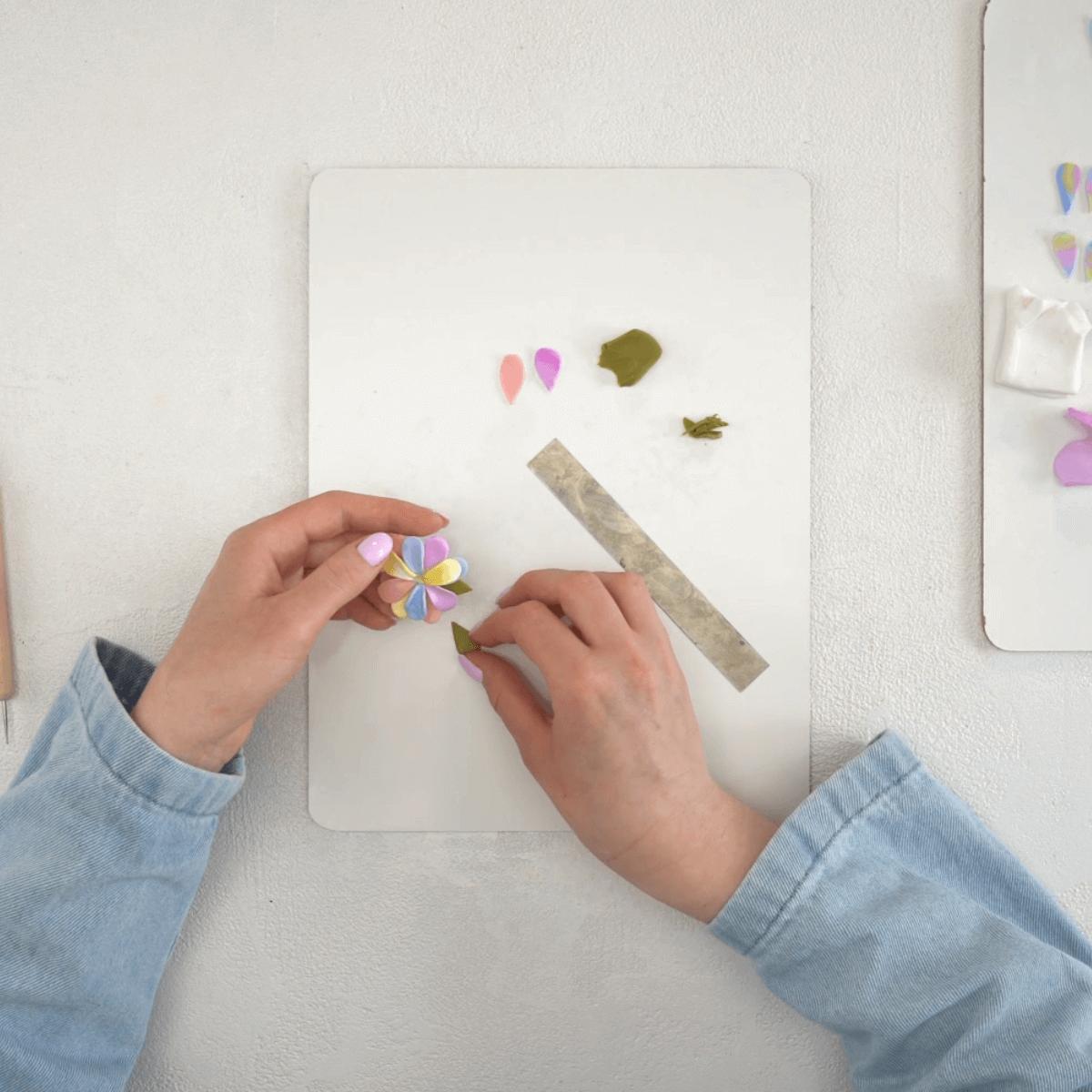 Polymer Clay Jewelry Step 4
