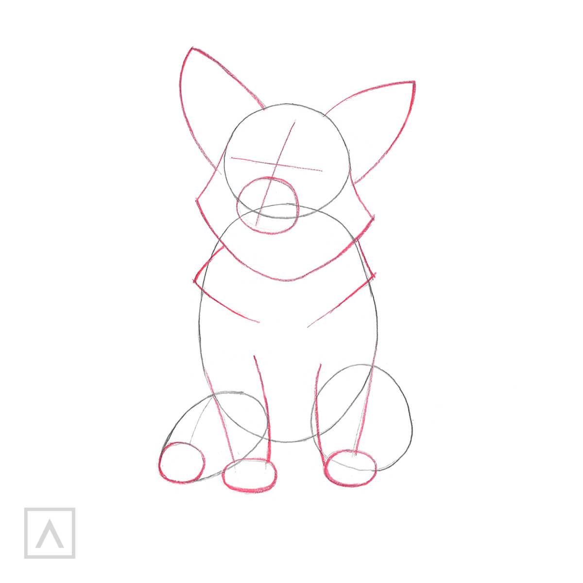 corgi drawings
