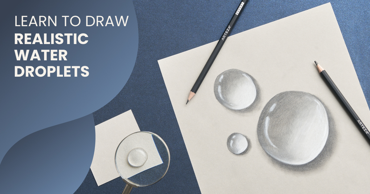 how to draw water