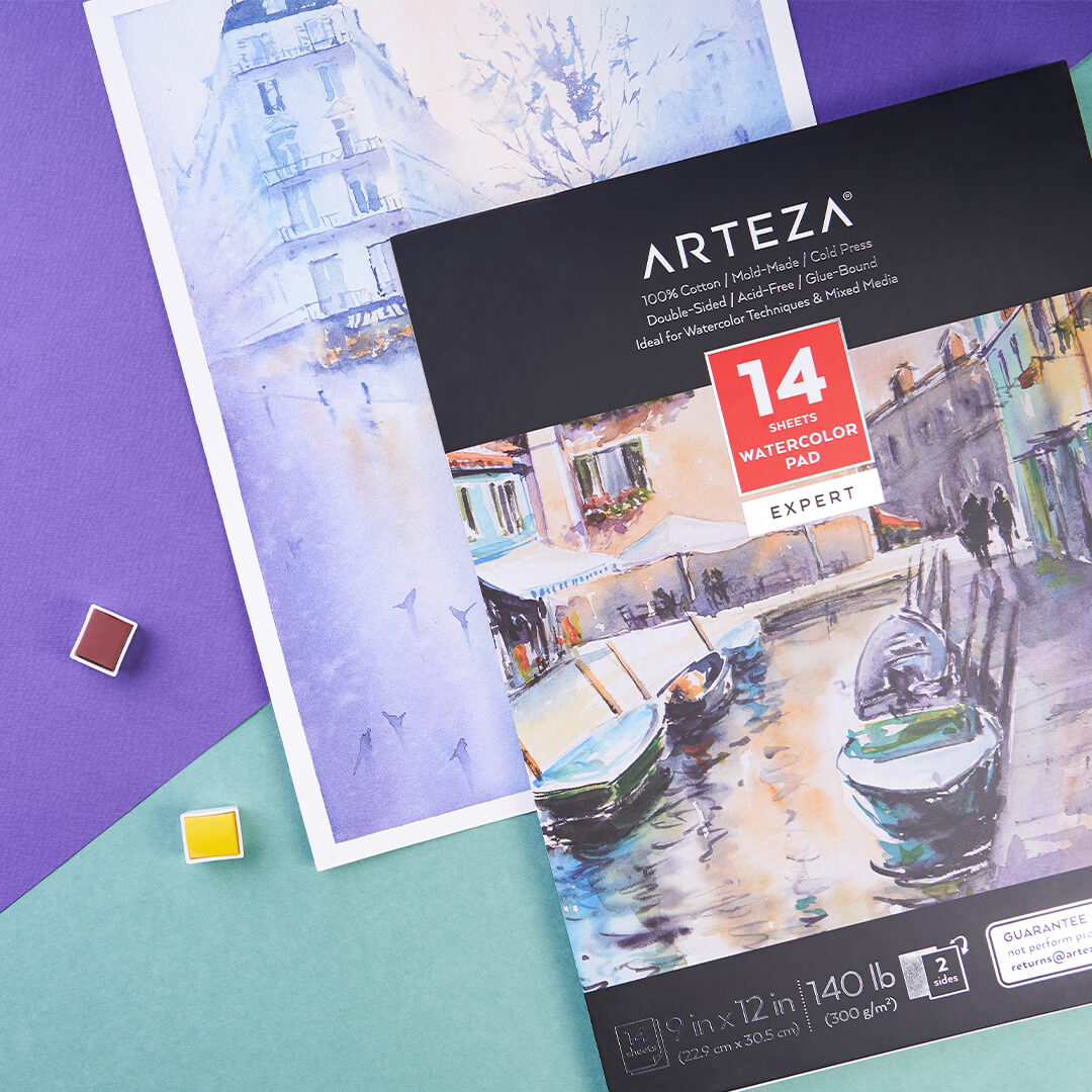 ARTEZA Expert Watercolor Pad