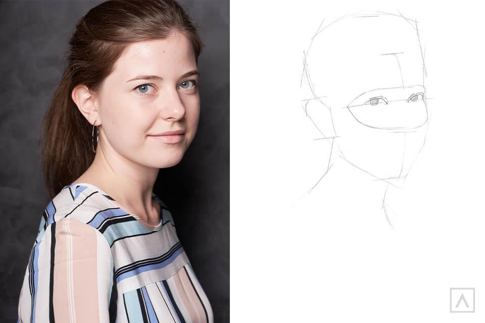 Self-Portrait Step 4