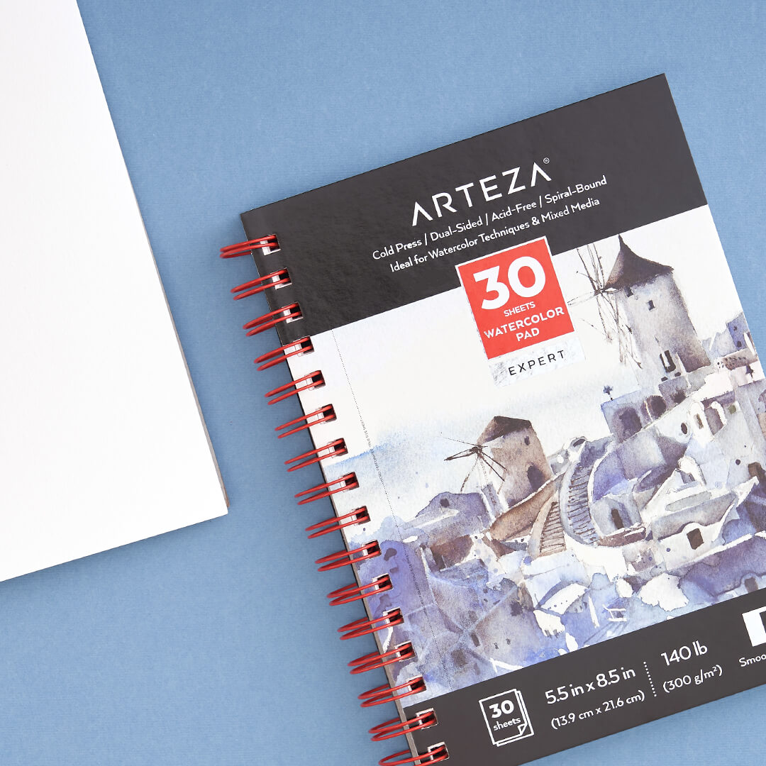 ARTEZA Expert Watercolor Paper Pad
