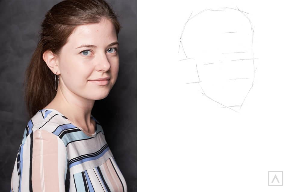 Self-Portrait Step 3