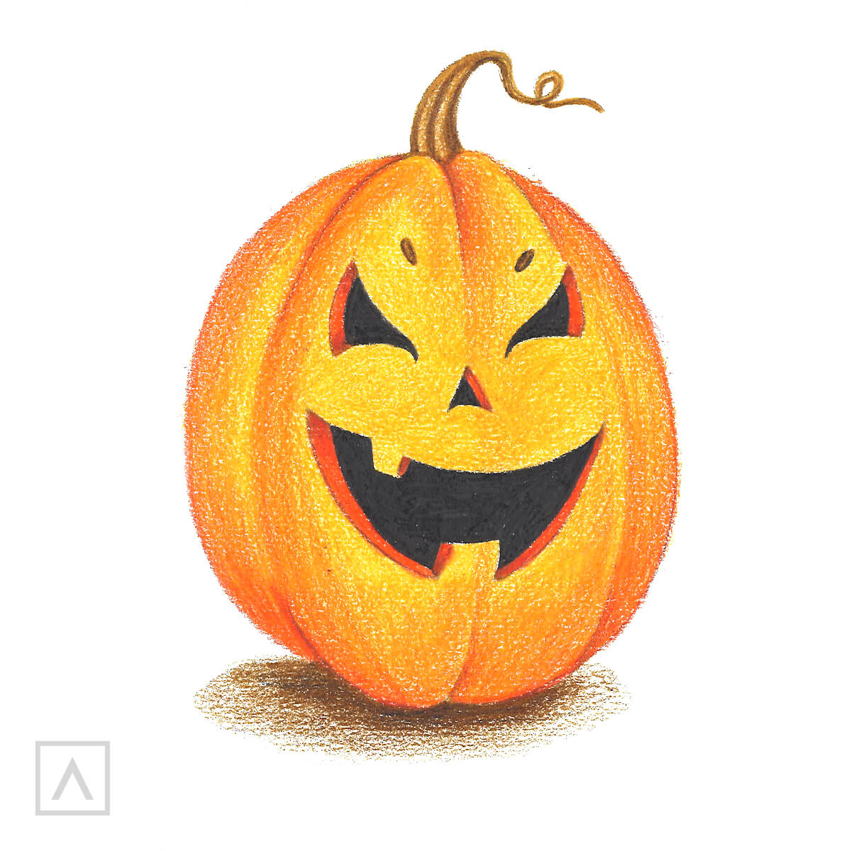 Step By Step Guide On How To Draw A Pumpkin Arteza