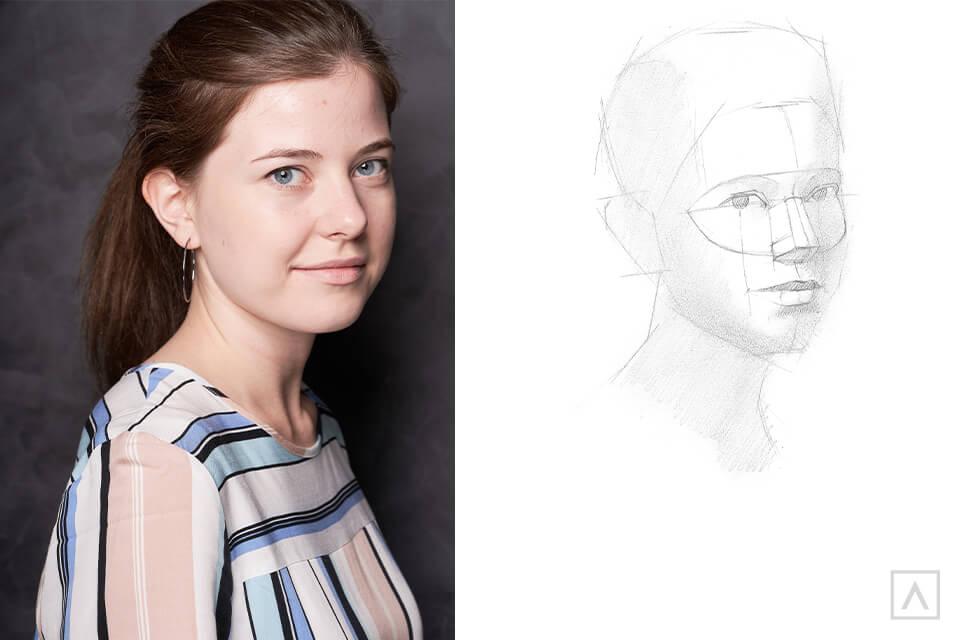 Self-Portrait Step 6