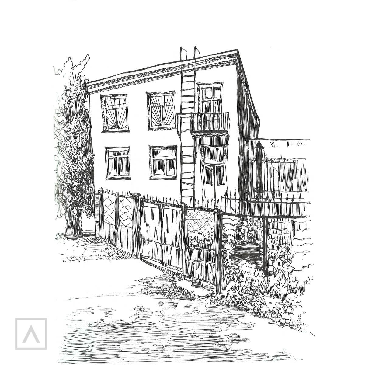 Step 8 Urban Sketching