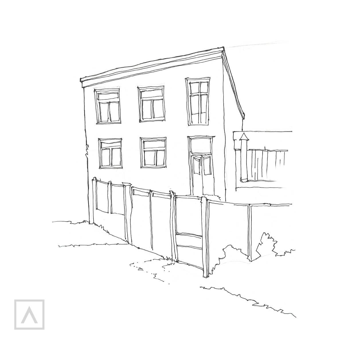 Step 4 Urban Sketching