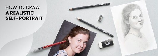 How to Draw a Self-Portrait Using Basic Theories and Practice