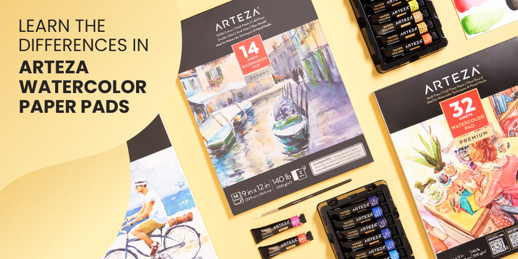 Top 7 Arteza Watercolor Paper Pads