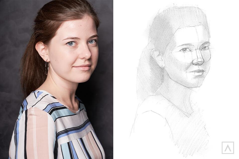Self-Portrait Step 7
