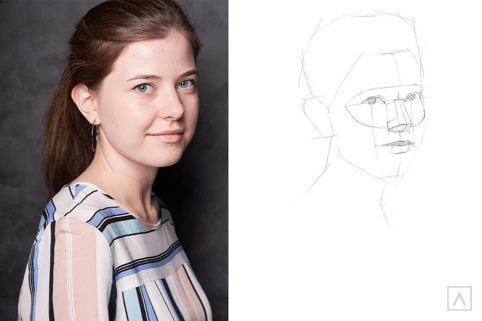 Self-Portrait Step 5