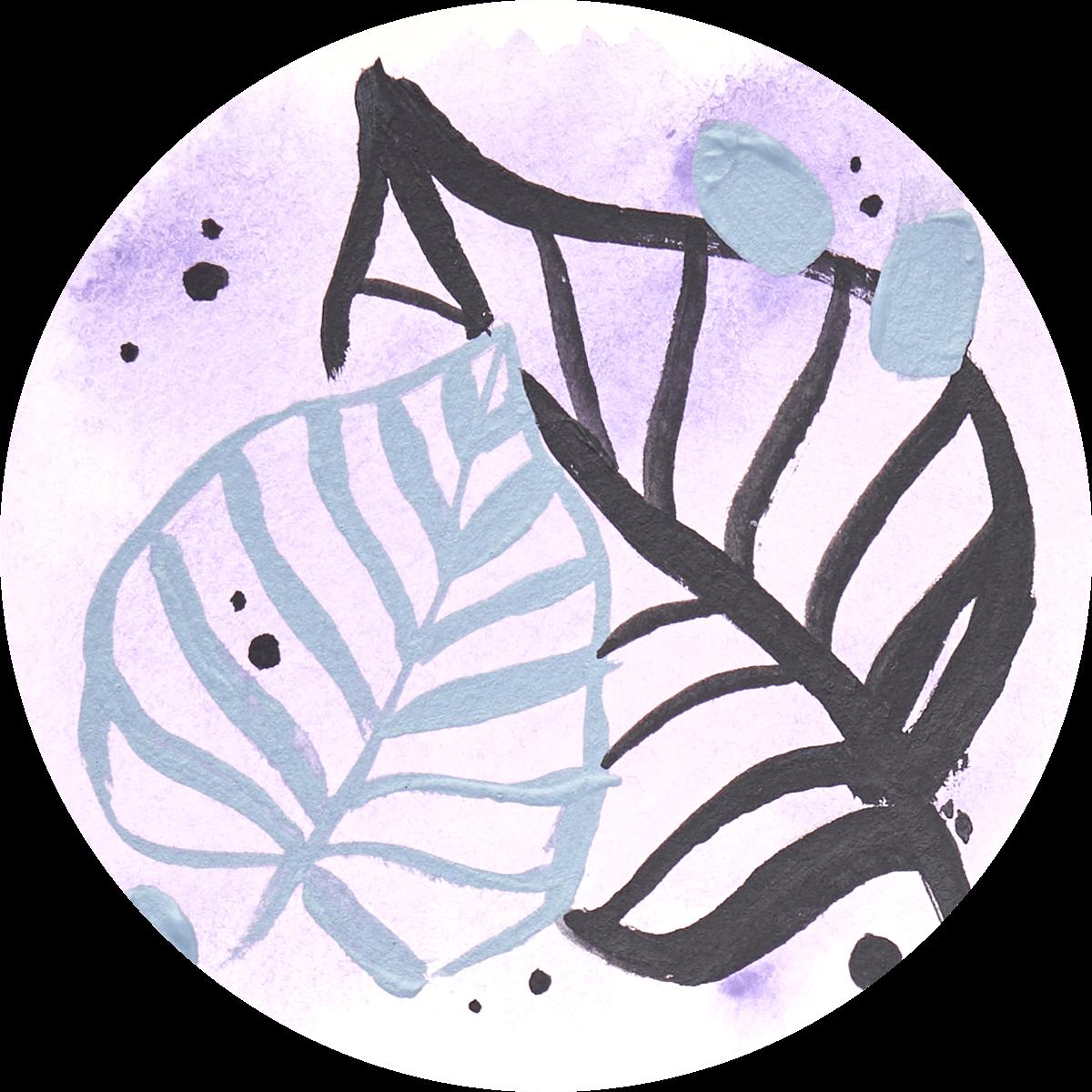 Watercolor + Acrylic Technique