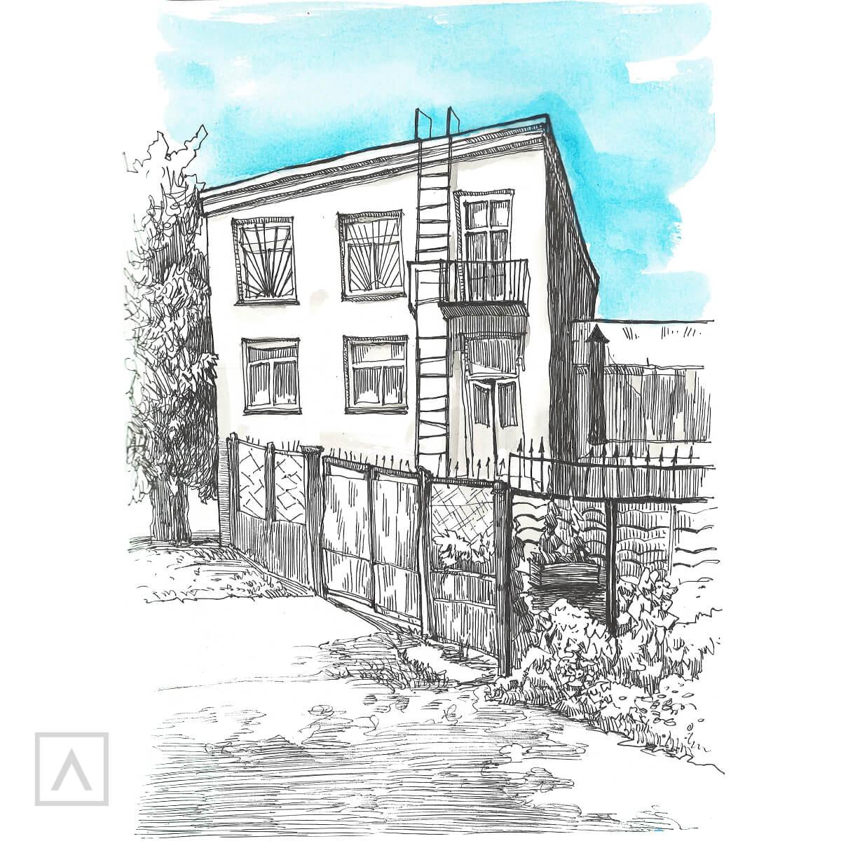 Step 9 Urban Sketching
