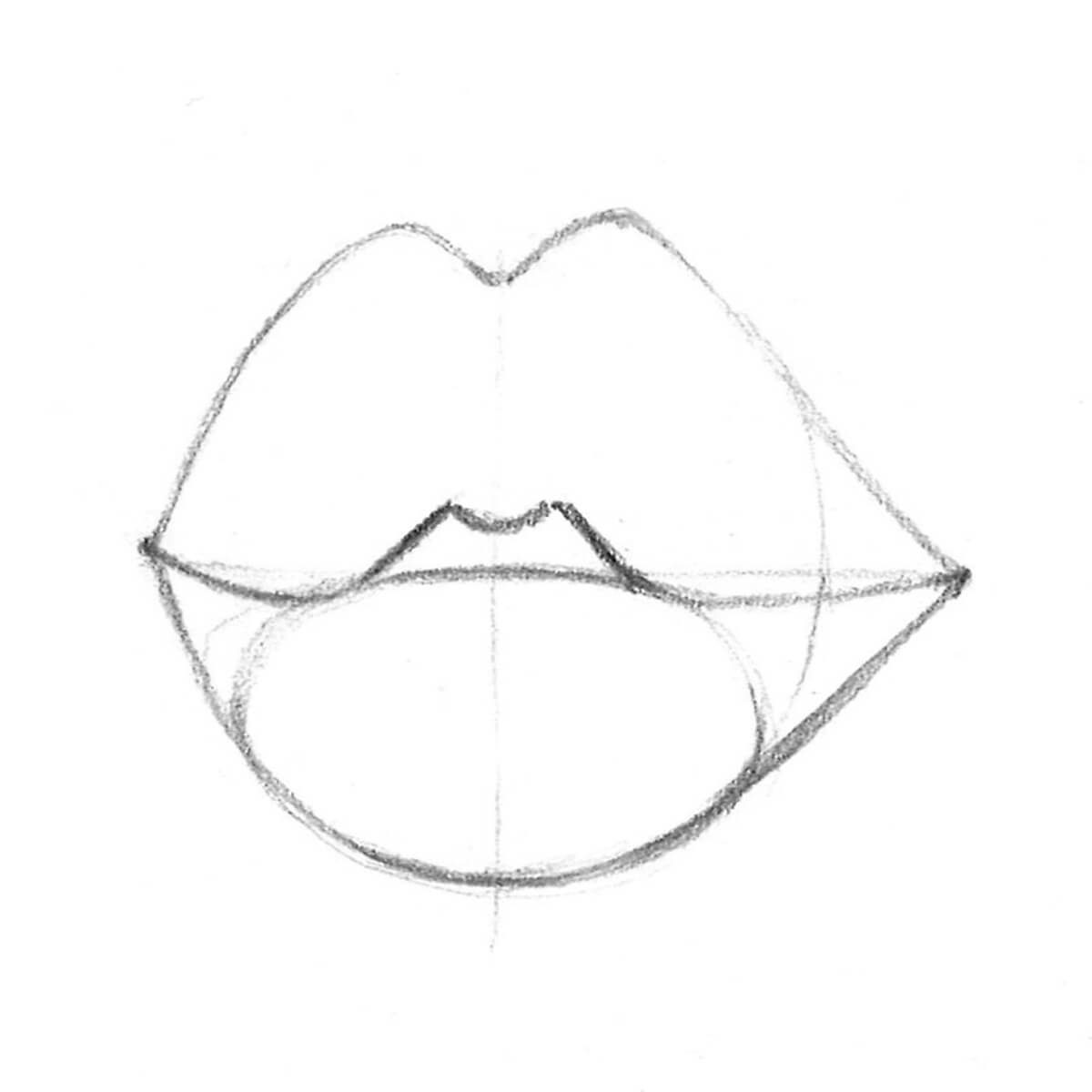 lips outline