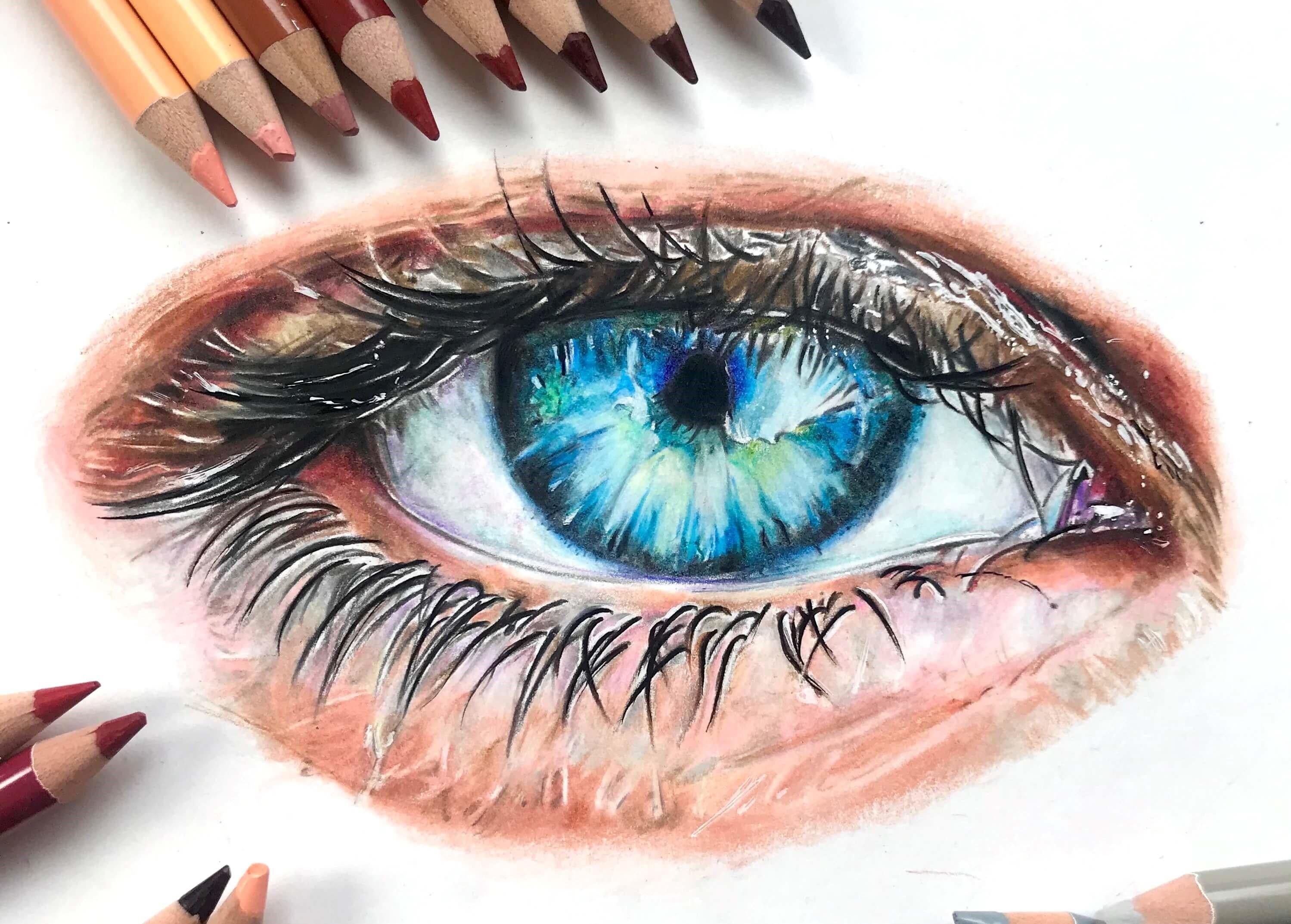 STEP 11: The Skin Above the Eye