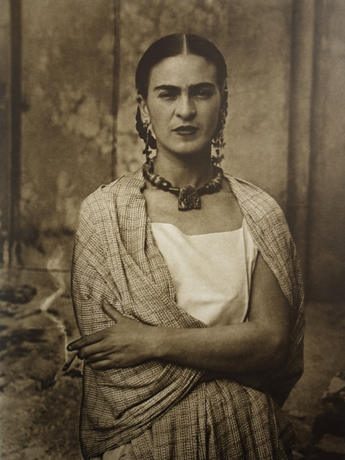 Portrait of Mexican painter by Frida Kahlo