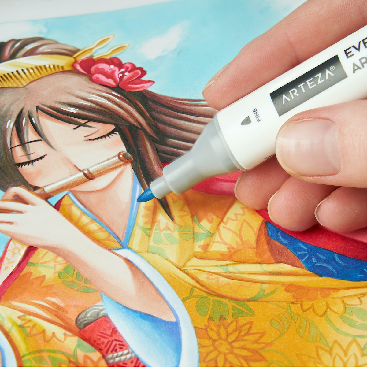 EverBlend Ultra Art Markers painting