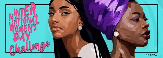Arteza's International Women's Day Art Challenge