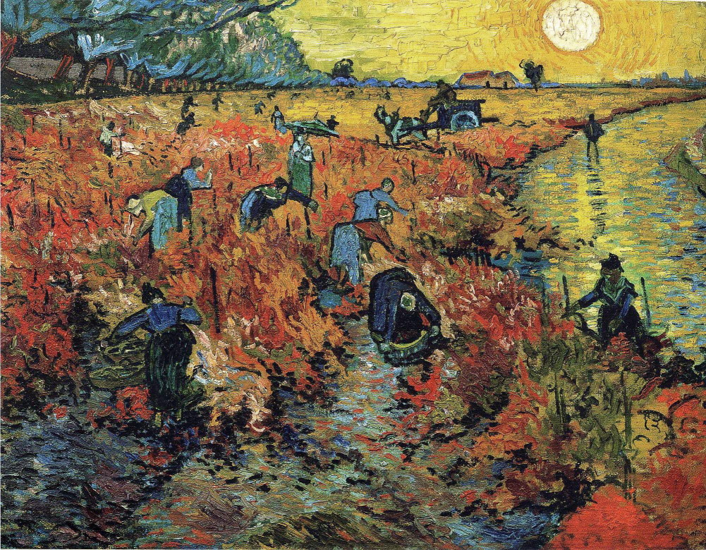 """""""The Red Vineyard,"""" 1888"""