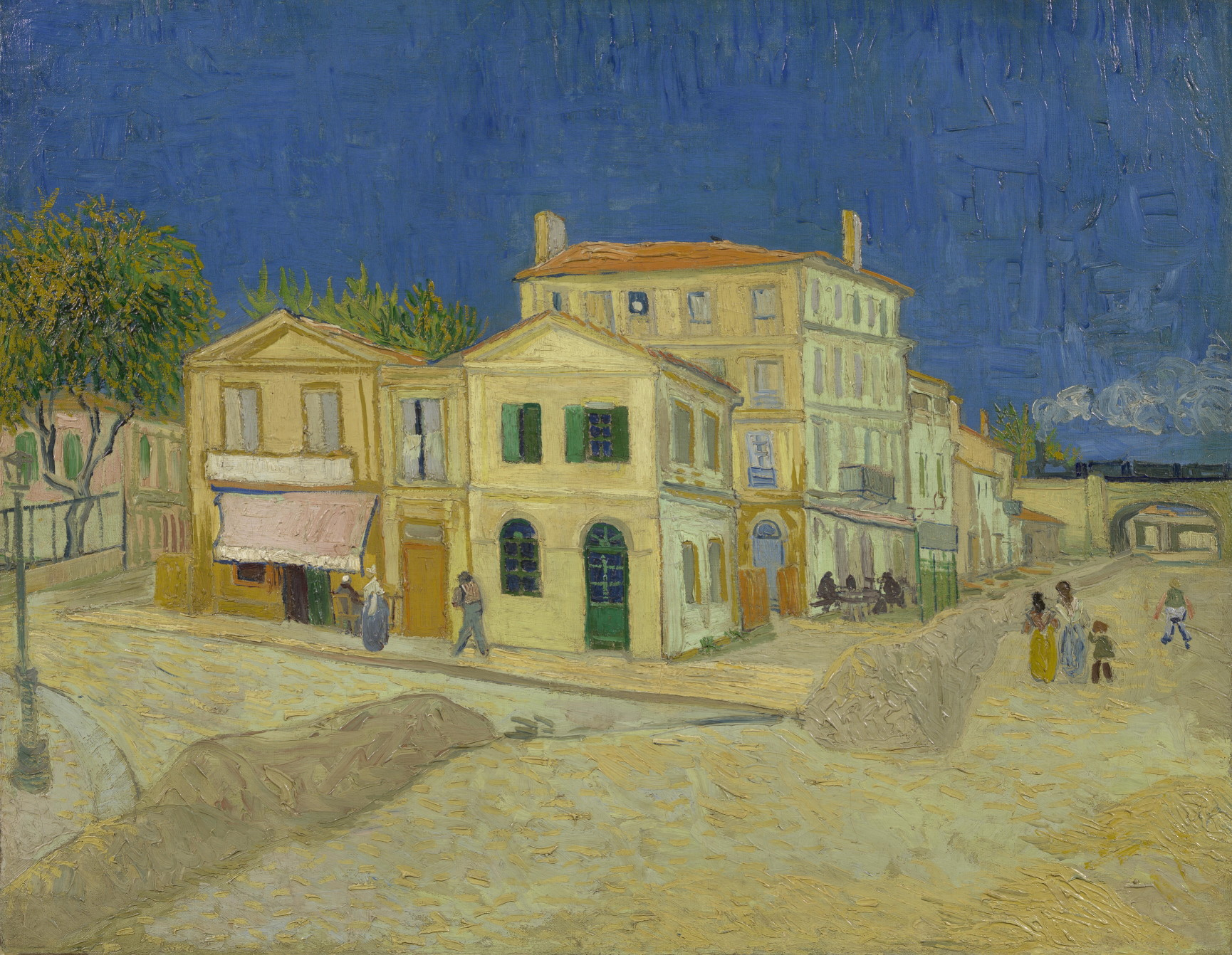 """The Yellow House (The Street),"""" 1888"""