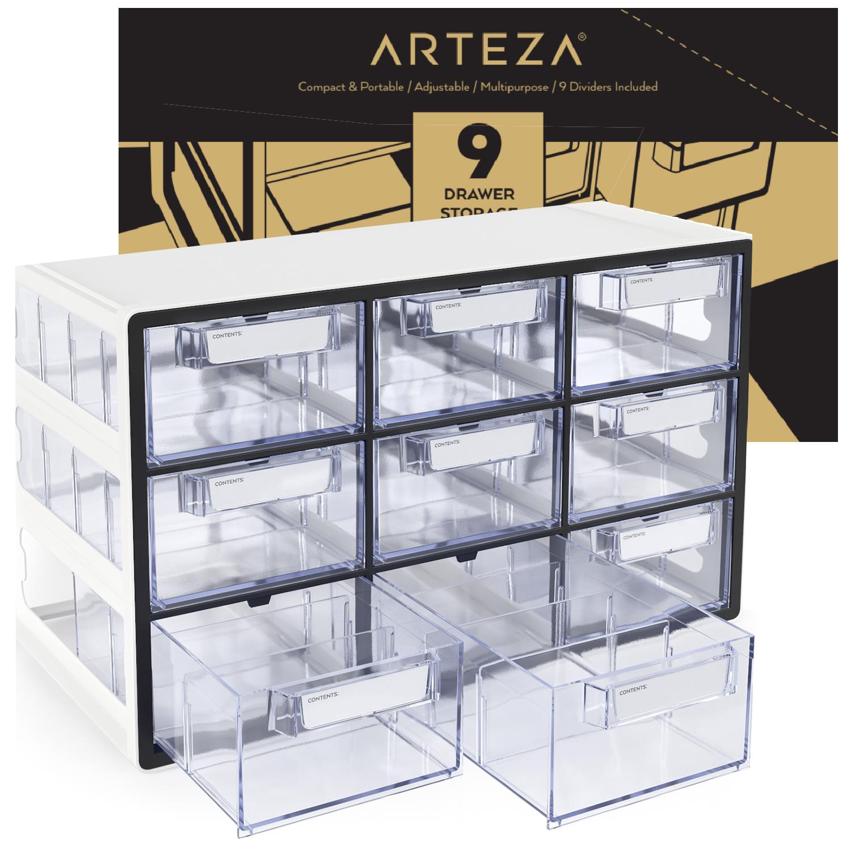 Arteza 16-Drawer Storage Cabinet