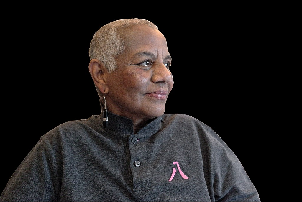 Photograph of Peggy Cooper Cafritz by Marqueo Curry