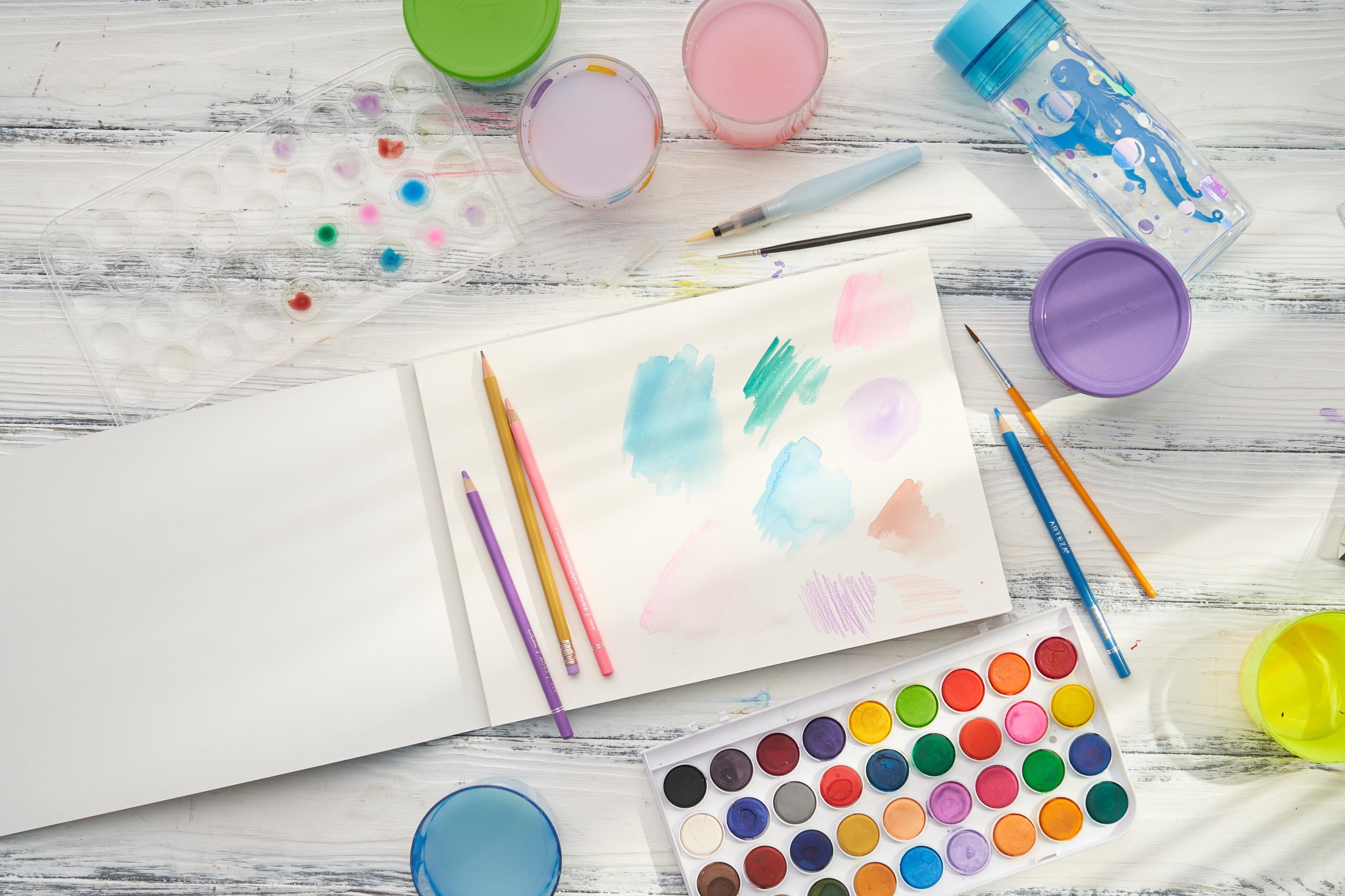 Kids Watercolor Paint Bundle