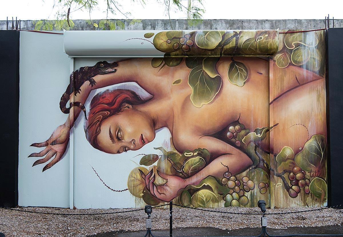 Tatiana Suarez at the Wynwood Walls