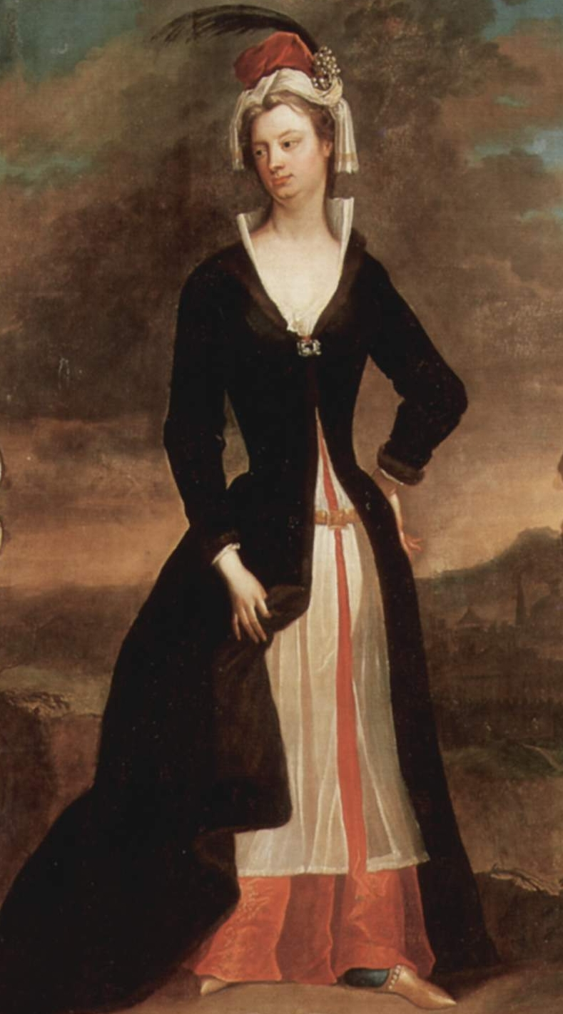 Mary Wortley Montagu by Charles Jervas