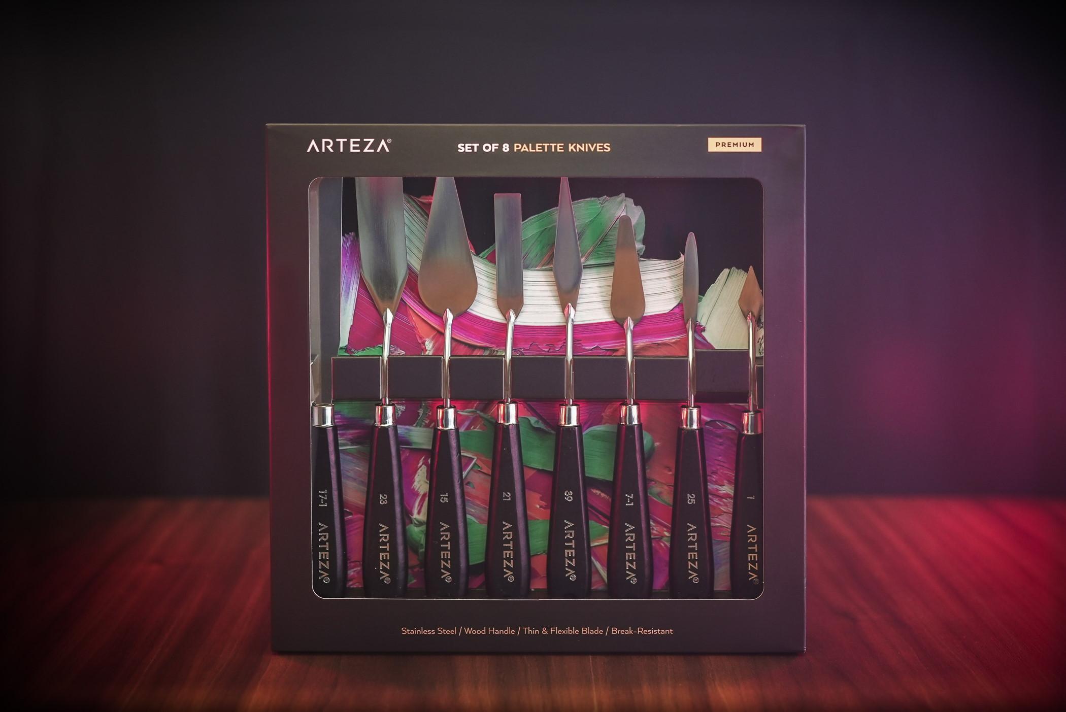 Palette Knives - Set of 8