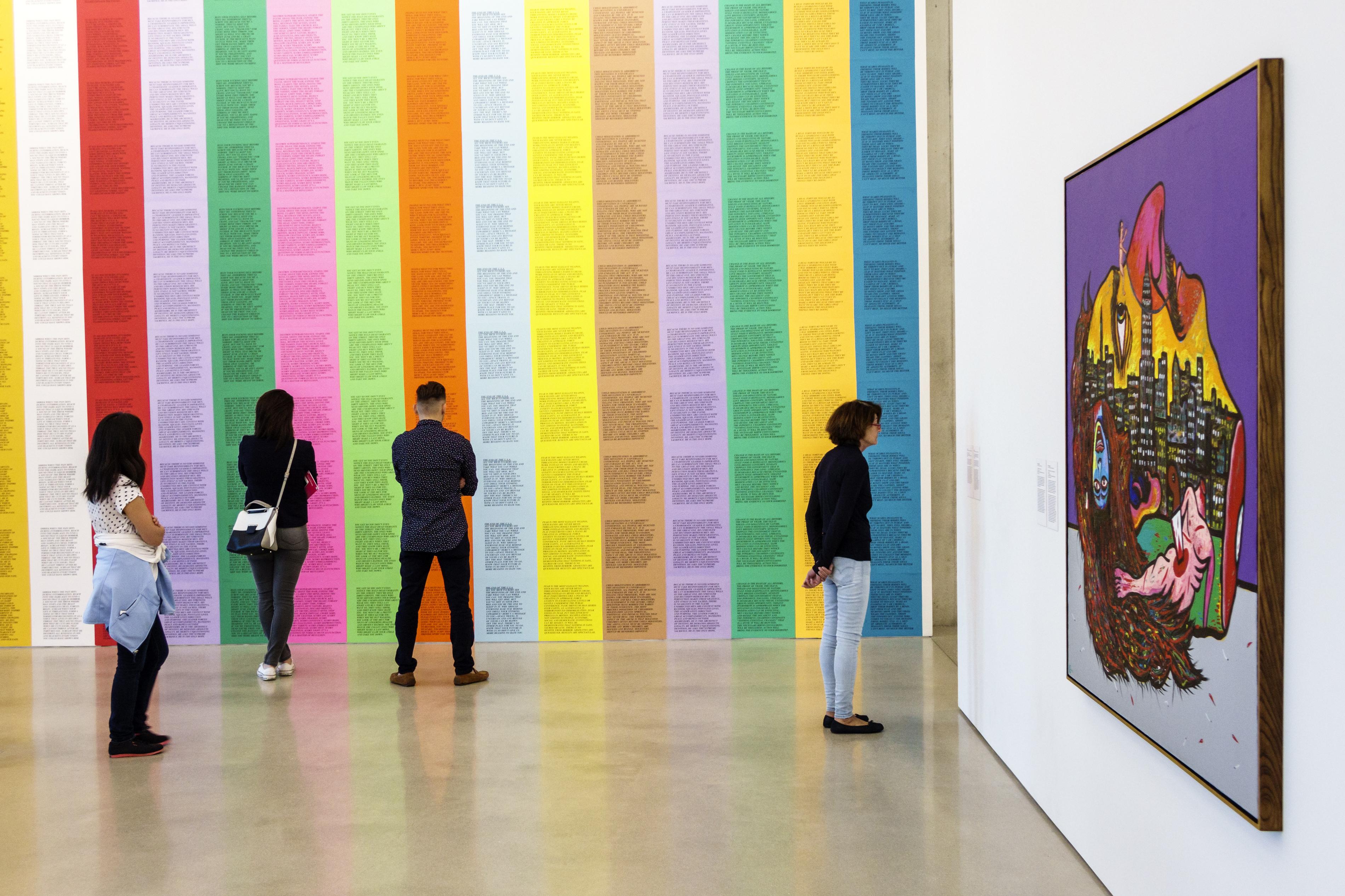 Inflammatory Essays inside the Perez Art Museum Miami