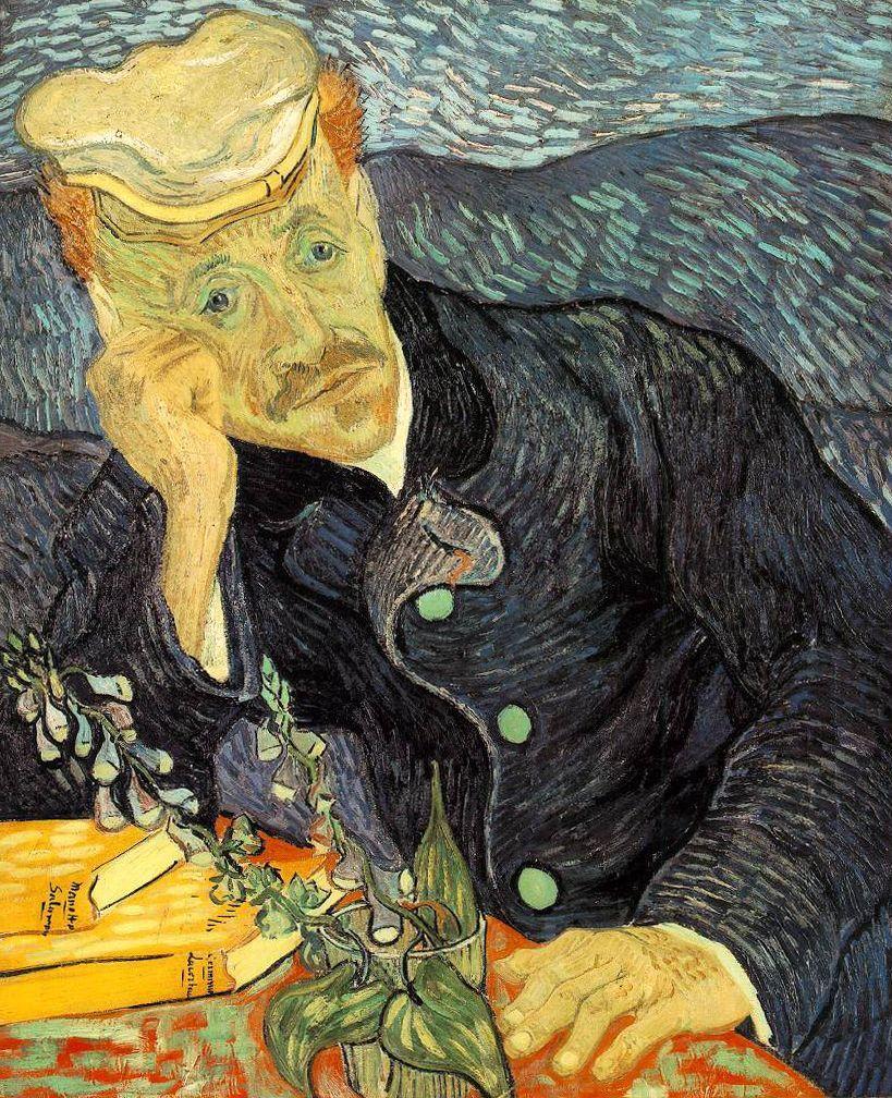 """""""Portrait of Dr. Gachet,"""" 1890"""