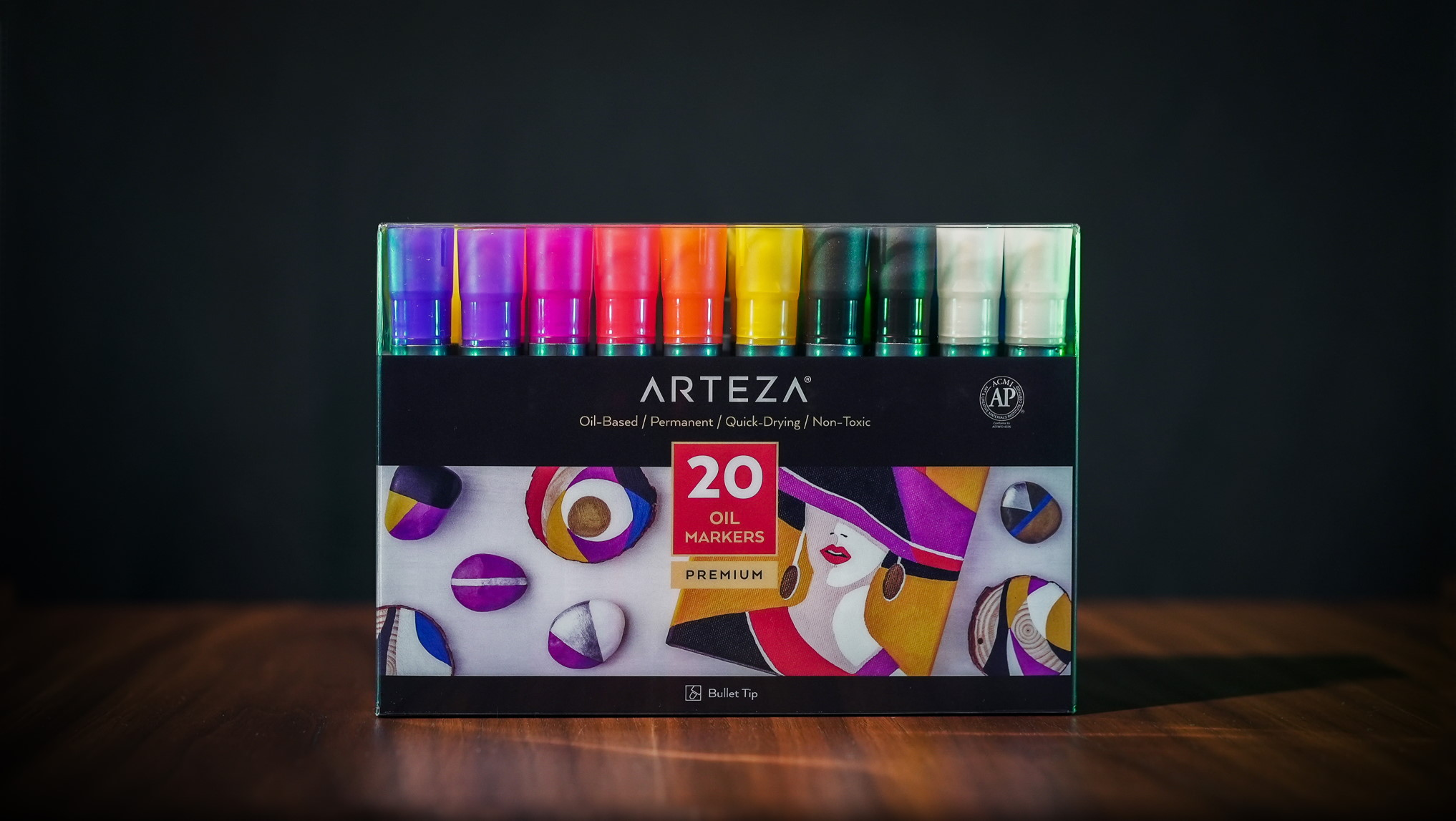 Oil Paint Markers - Set of 20