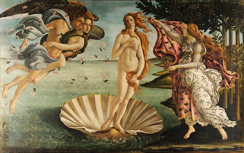 "Sandro Botticelli, ""The Birth of Venus"""