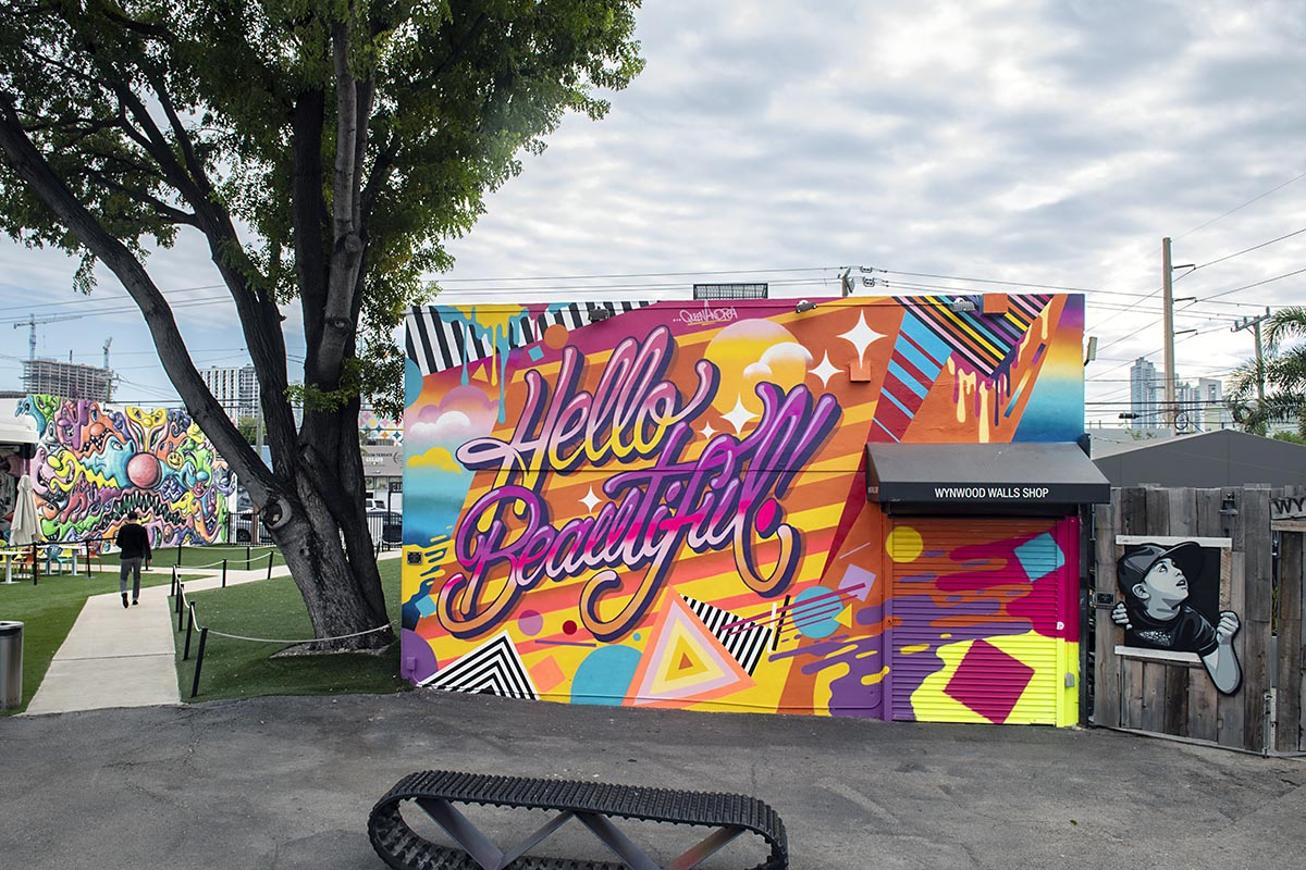 Queen Andrea at the Wynwood Walls