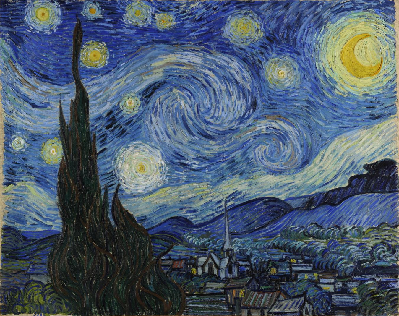 """The Starry Night,"" 1889"