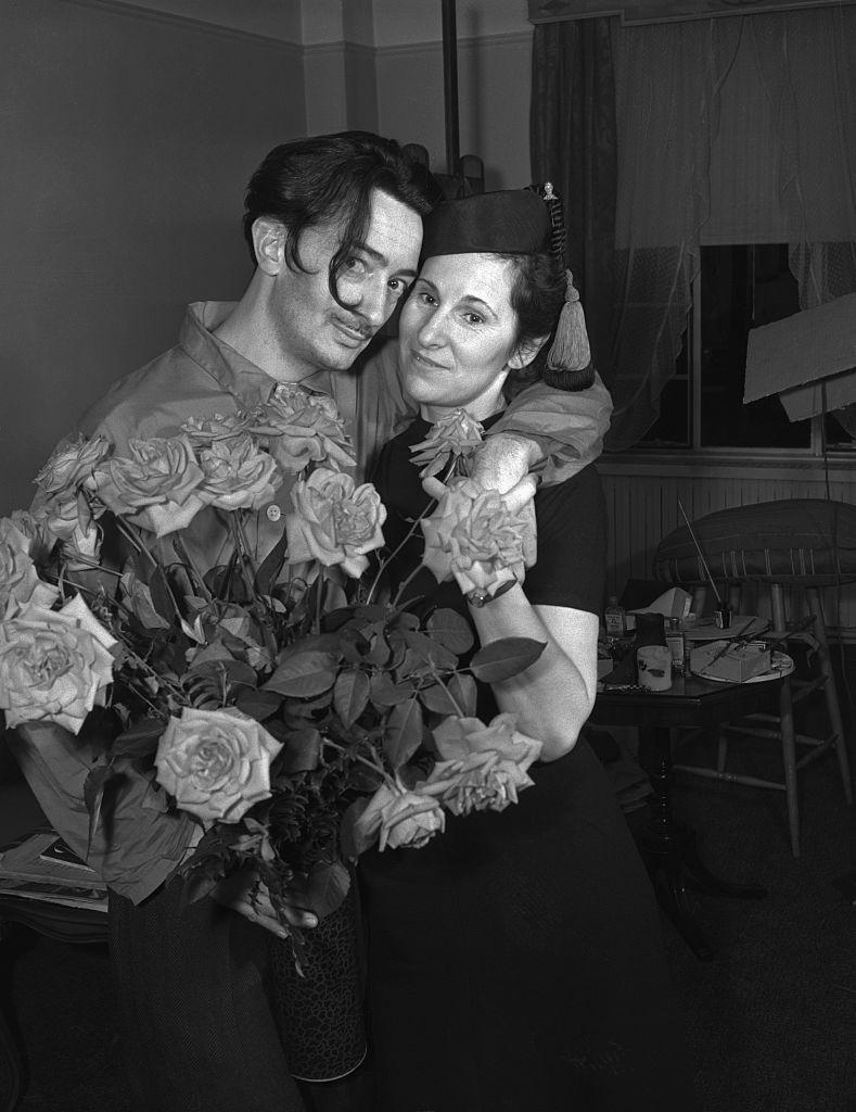 Salvador and Wife Gala Dali