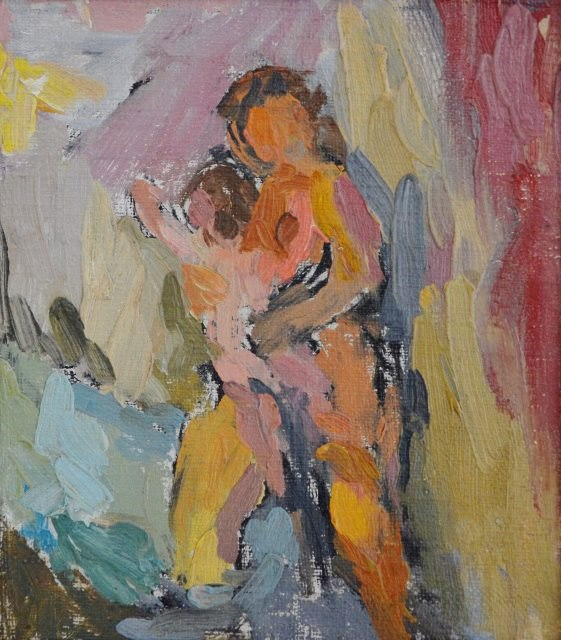 Eugenie Baizerman - Mother and Child