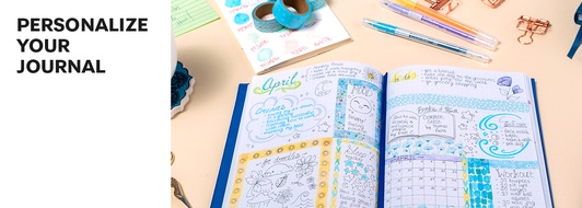 5 Ideas for a Personalized Journal Layout