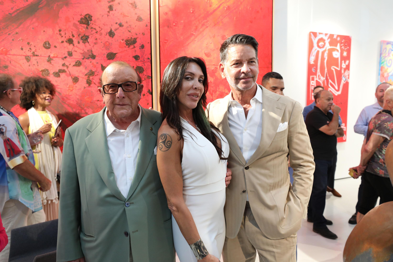 "Clive Davis, Fernanda Lavera & Greg Schriefer, ""The Freak & Lucy"""