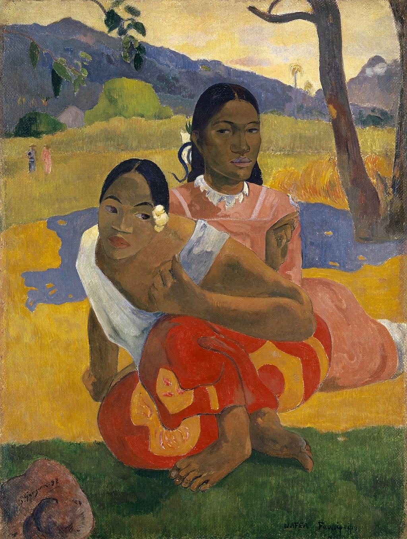 "Paul Gauguin, ""NAFEA Faaipoipo"" (""When Will You Marry?"")"